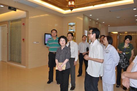 重庆市政府办公厅领导莅临当代参观视察-重庆